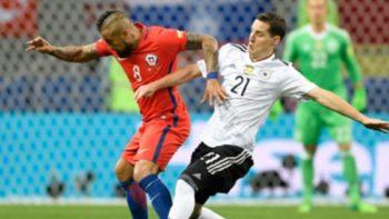 Alemania y Chile dividen puntos en segunda jornada de Copa Confederaciones