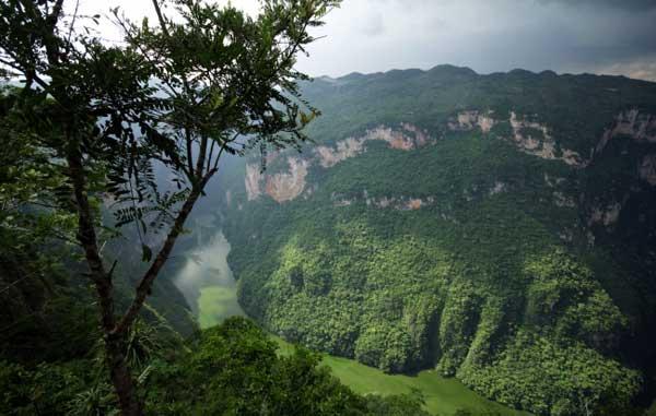 Gobierno federal recupera 15 hectáreas del Cañón del Sumidero