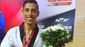 Carlos Navarro va por oro en Mundial de Taekwondo