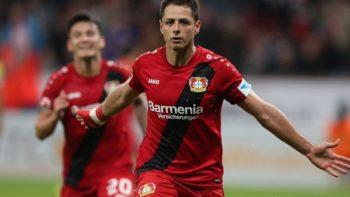 'Chicharito' se despide del Bayer Leverkusen