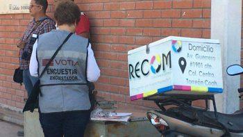 Una romería, casilla donde votará Riquelme