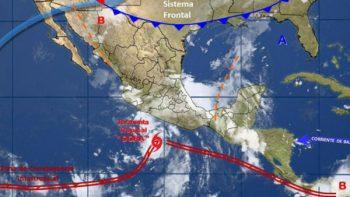 Huracán Dora continúa desplazamiento en costas de Colima y Jalisco