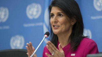 Trump sí cree que el clima está cambiando: Embajadora de EU ante ONU