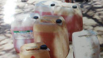 Aseguran en Puebla 32 vehículos y más de 14 mil litros de combustible
