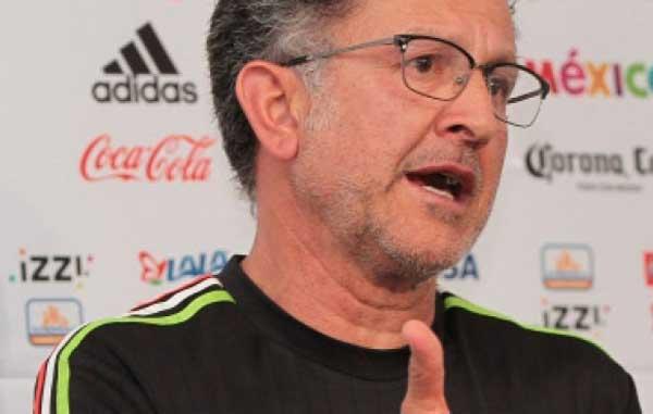 Para Osorio, números favorecen al Tri