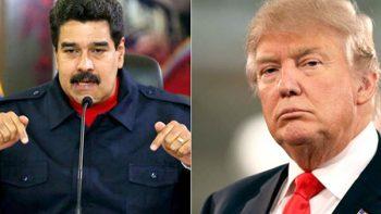 Maduro pide a Trump a frenar las protestas opositoras en Venezuela