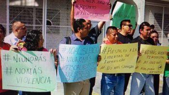 Periodistas exigen justicia para Javier Valdez, en Guerrero