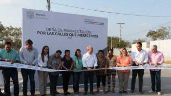Invierte Matamoros primeros 7 MDP en obras de pavimentación en cuatro colonias