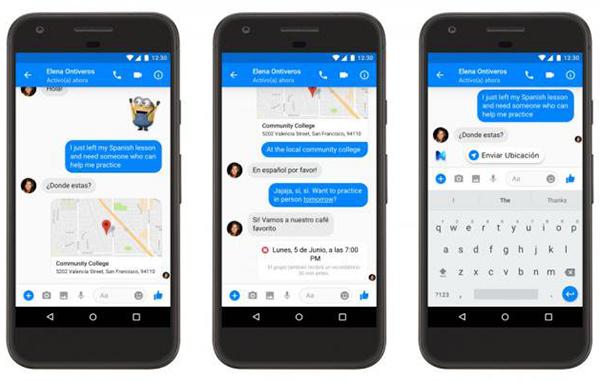 La nueva herramienta de Facebook Messenger