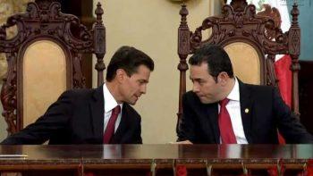 Buscan México y Guatemala frontera inteligente