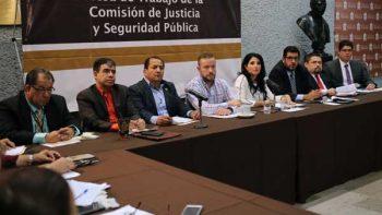 Realiza Comisión de Justicia mesa de trabajo