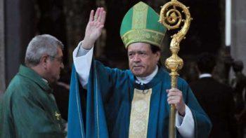Llama Rivera Carrera a vivir con fuerza la fe católica para vencer miedos