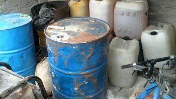 Asegura PGR más de 239 mil litros de hidrocarburos en operativos