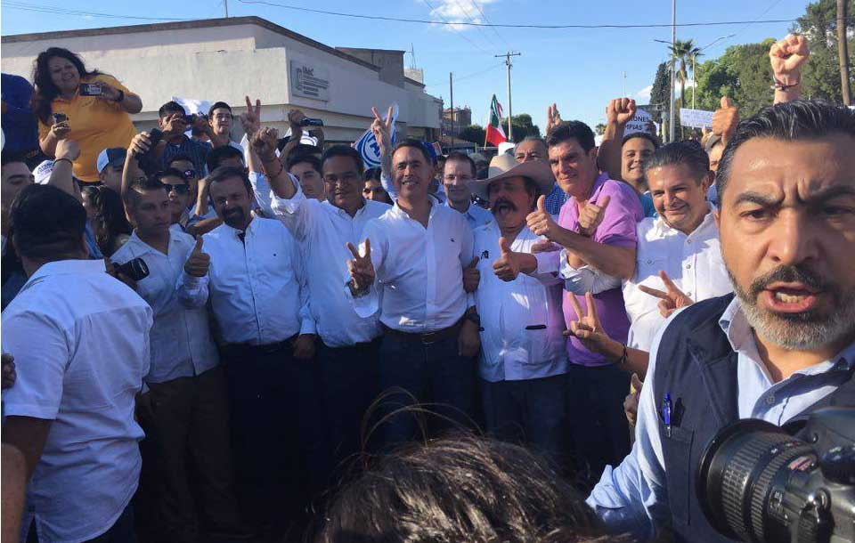 Culpa Zavala a Anaya de perder la elección en el Edomex