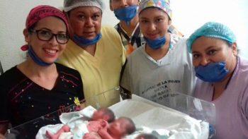 Mujer en Tuxtla Gutiérrez da a luz a trillizos