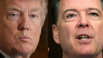 Trump arremete contra el 'cobarde' Comey en Twitter
