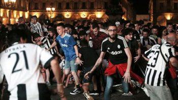 Una mujer muere por la estampida en Turín en la final de la Champions