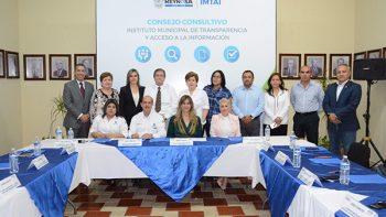 Instalan Consejo Consultivo del Instituto Municipal de Transparencia