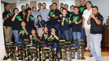 Destacan deportistas del IMUA Palomo Center de Río Bravo.