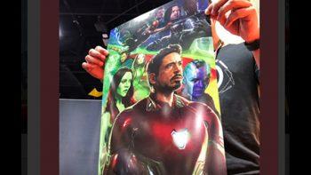 Presentan poster de 'Avengers: Infinity War'