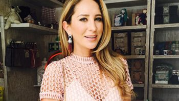 Actriz Geraldine Bazán comparte experiencias como mamá en canal digital