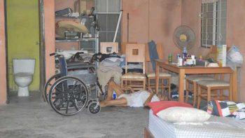 Abuelito aguanta tirado nueve horas en el piso