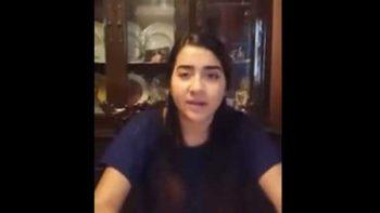 Niega alumna fraude tras graduación en la calle (VIDEO)