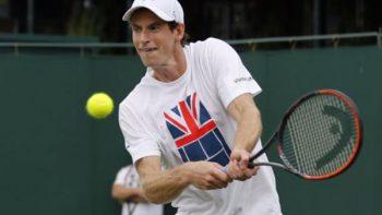 Andy Murray por décima vez llega a cuartos de final en Wimbledon