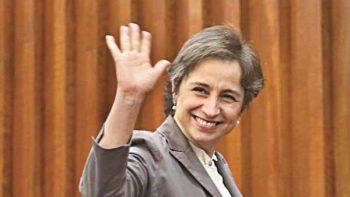 Juez declara legal término de contrato de Carmen Aristegui con MVS