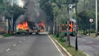 Llegan los narcobloqueos a la CDMX tras muerte de capo
