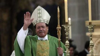 Cardenal pide orar para que 'podamos vivir en paz en nuestras calles'