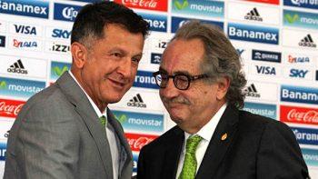 Decio de María inseguro de mantener a Osorio hasta Mundial de Rusia