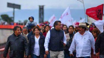 Delfina Gómez y seguidores marcharán de San Lázaro a Basílica