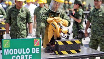 Sedena destruye más de 2 mil armas en Tamaulipas