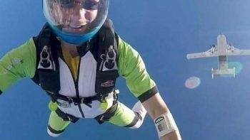 'Voy a un lugar maravilloso', dice paracaidista a su esposa antes de suicidarse