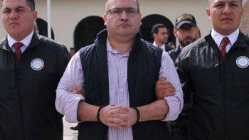 Inicia audiencia de Javier Duarte en el Reclusorio Norte