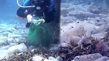 El desesperado intento de un hombre para salvar los océanos (VIDEO)