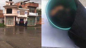 Encuentran cabeza humana en Pátzcuaro