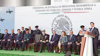 EPN pide a militares no seguir órdenes si implican un delito