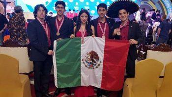 México gana cinco medallas en Olimpiada Internacional de Física