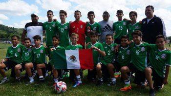 Brillan en Copa Mundial juvenil futbolistas de Guadalupe, Nuevo León