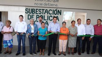 Inaugura Cienfuegos primera subestación de Policía en Ciudad Guadalupe