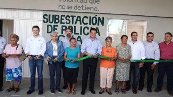 Inaugura Cienfuegos primera subestación de Policía en Ciudad Guadalupe