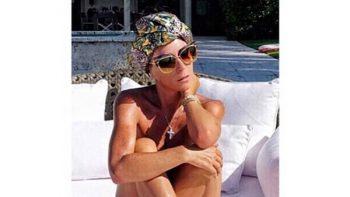 ¿Desnuda? Inés Gómez Mont disfruta del verano
