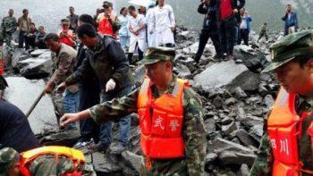 Aumenta a 56 la cifra de muertos por inundaciones en China