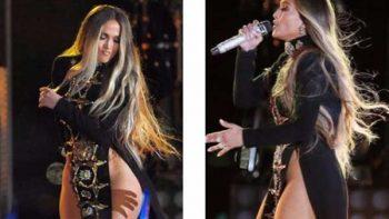 Viralizan show de Jennifer Lopez en Nueva York por su vestuario sexy