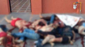 Tiran 10 cadáveres en domicilio de Nuevo Laredo
