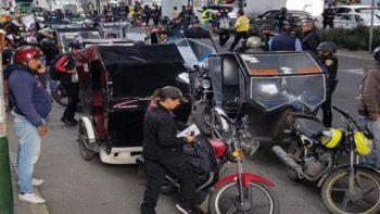 Realizan operativo contra mototaxis en Tláhuac