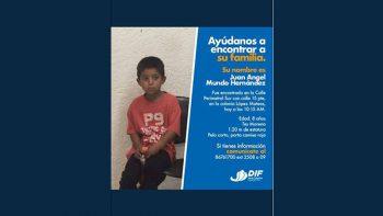 Solicita Santa Catarina apoyo para encontrar a familiares de menor de edad