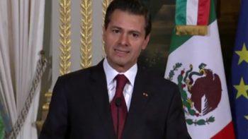 Pide EPN mantener unidad ante momentos complejos de México
